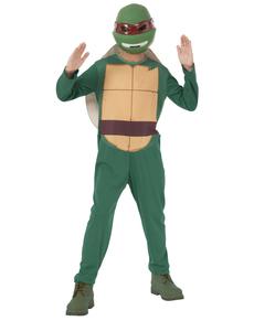 Kostium Raphael Żółwie Ninja w pudełku dla chłopca