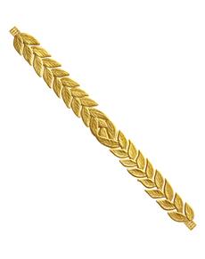 Korona laurowa złota dla dorosłych