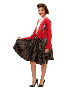 Kostium dziewczyna z lat 50. dla dziewczynki