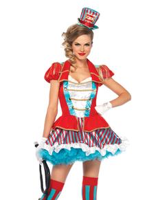 Kostium olśniewająca treserka z cyrku damski